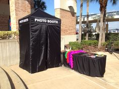 Photo booth with props