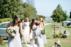 Ashleigh & Ben's Real Wedding | www.weddedwonderland.com