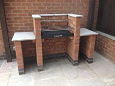 Black Knight Brick BBQ BKB401: Amazon.co.uk: Garden & Outdoors