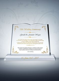 Pay tribute to your pastor's wife for hard work and dedication; honor and encourage them with this amazing Appreciation Plaque. Gifts For Pastors, Pastors Wife, Parent Gifts, Golden Anniversary Gifts, Anniversary Gifts For Parents, Thank You Plaques, Pastor Appreciation Gifts, Message Bible, Personalized Books