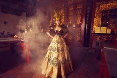 Asia's Next Top Model ( Episode 3 ) Photographer: Akif Hakan Celebi Model: Filantropi ( Indonesia ) Designers: Tube Gallery ( Thailand )