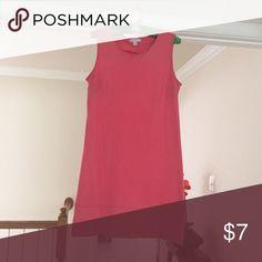 Pink shift dress 100% cotton pink shift dress Dresses