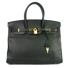 Luxury Replica High Imitation Hermes Birkin 61640 Ladies Cow Leather Handbags H01489 - luxuryhandbagsoutlet.com