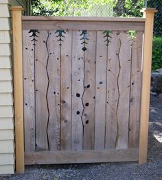 hide the recycle bins with a decorative panel