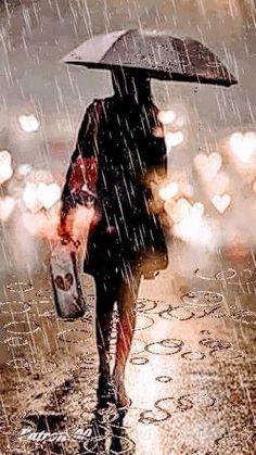 New Rainy Night Photography Storms 24 Ideas Rain Rain Come Again, I Love Rain, Rain Days, Walking In The Rain, Singing In The Rain, Umbrella Photography, Night Photography, Gif Chuva, Rain Wallpapers
