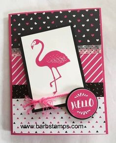 Pop of Paradise and Pop of Pink!   Barb Stamps   Bloglovin'