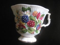 Royal Albert Orchard Series - BLACKBERRY LANE - TEACUP Only - Replacement - Made in England Bone China - Beautiful Condition -