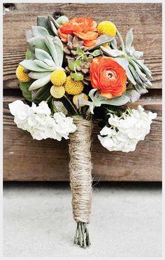 succulent wedding bouquet - Google Search