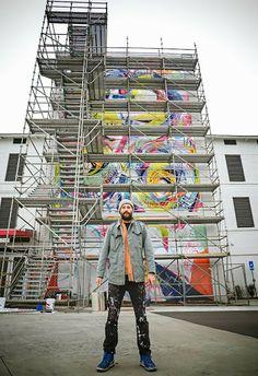 Artist Matt Hebermehl #mural #SCAD