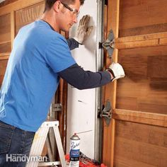 noisy garage doors are usually caused by worn rollers, loose hardware, parts that need lubrication or an opener in need of anti-vibration pads