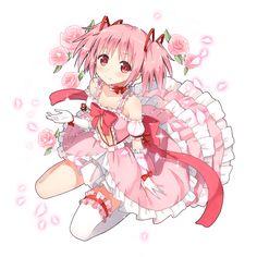 鹿目まどか 魔法少女まどか☆マギカ #madoka_magica(1024×1024)