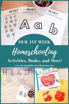 What did we do during our first week of homeschooling? Check out the awesome calendar activities, book recommendations, craft ideas, and science and literacy activities we used during our first week learning from home. Perfect for preschoolers and toddlers. #homeschool #preschool #toddleractitivities