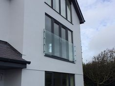 Infinity Glass Juliet Balconies from - Glass Balcony Ideas , Infinity Glass Juliet Balconies from glass juliet balcony abersoch Bedroom extension. Glass Juliet Balcony, Juliette Balcony, Glass Balcony, Small Balcony Decor, Outdoor Balcony, Balcony Ideas, Loft Conversion Balcony, Dormer Loft Conversion, Loft Conversions