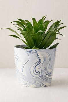 Marble Planter - wonder if i could make this?