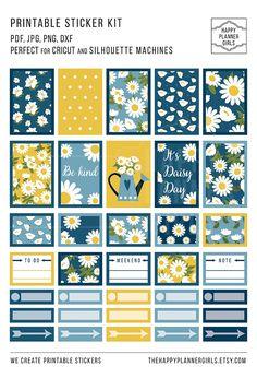 Huge Planner Sticker Kit #planner #stickers