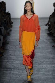 Prabal Gurung Spring 2016 Ready-to-Wear Fashion Show - Jamilla Hoogenboom