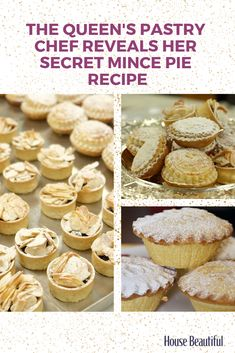 Royal Pastry chef Kathryn Cuthbertson has revealed the secret recipe for the mince pies served in the royal households during the Christmas period. Pastry Recipes, Pie Recipes, Sweet Recipes, Baking Recipes, Dessert Recipes, Custard Recipes, Recipies, Xmas Food, Christmas Cooking