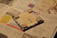 Mod Podge tile coasters