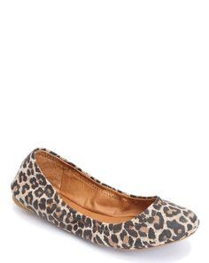Emmie Ballet Flats - Leopard
