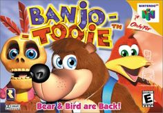 Banjo-Tooie for N64. One of my favorite games as a kid