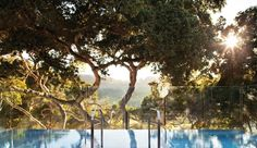 In the foothills of the Santa Lucia Mountains, the sprawling 500-acre Carmel Valley Ranch is fresh from a multi-million dollar renovation that transformed it into an activity-filled resort offering world-class golf, clay-court tennis, mountaintop yoga, gourmet cooking classes and a luxe spa. The wood swing hanging from the thick oak tree outside the main lodge sets the stage for a playful escape in this sun-drenched rural refuge, which also enjoys unbeatable access to the valley's wineries…