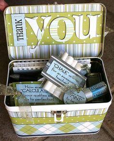 Thank You Lunchbox Tin