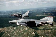 U.S. Air Force McDonnell Douglas F-4G Phantom II Wild Weasel aircraft