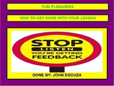 FUN+PLENARIES+TO+GET+DONE+WITH+A+LESSON:+PRESENTATION+from+JOHN421969+on+TeachersNotebook.com+-++(54+pages)++-+A+Presentation+on+Fun+Plenaries+that+can+last+about+ten+minutes,+but+could+be+shorter,+to+assess+the+learning+at+the+end+of+a+lesson.