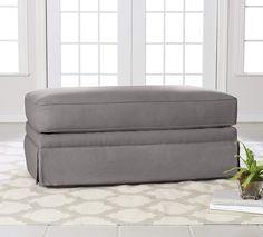 Leather Footstool Sofa Stool Shoe Bench Storage Storage