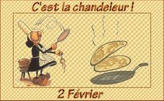 AATF-WA/AK/BC/AB: Autour de la gastronomie - Les différents pliages des crêpes/La Chandeleur