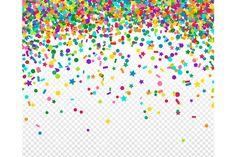 Confetti by kotoffei on @creativemarket