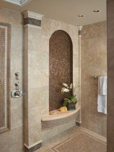 Home Decor Mediterranean Bath. バスルームのインテリアコーディネイト実例