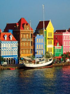 Curacao, Netherlands Antilles, Caribbean  Been there a couple of times, looks just like this.  Beautiful island