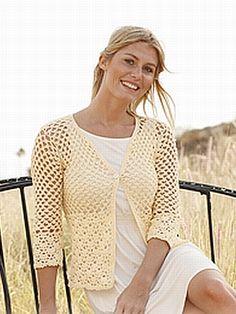 crochet pattern - buttercup jacket