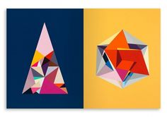 Collate #geometric #colours