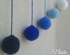 Móbile Gobbi Montessori Crochê