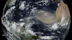 Temperature and weather systems each interact with, and are influenced by, a multitude of Earth systems, each affected by the warming climate. One of those is the global transport of massive dust plumes from one continent to another. Continents, Cosmos, Nasa, Ships, Weather, Earth, Space, Amazing
