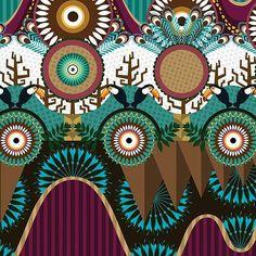 michelmassih -  Pattern vakamarela #surfacespatterns #surfacedesign #estampa #art #illustration #pattern #decoração #arte #textiledesign #tecido #estamparia #ilustração #designdesuperficie  #design