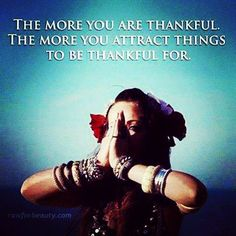 So true when I count my blessings the more I'm blessed!