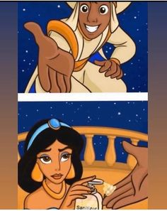 Aladim e Jasmine - The Effective Pictures We Offer You About salute logo A quality picture can tell you many things. Funny Disney Jokes, Crazy Funny Memes, Disney Memes, Really Funny Memes, Funny Relatable Memes, Funny Jokes, Hilarious, Dark Disney, Realistic Disney Princess