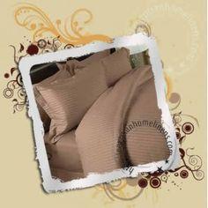 Duvet Cover Set 1200TC Egyptian Cotton Taupe