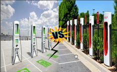 Tesla Supercharger Vs Electrify America 2020 Level 2 Charger, Tesla Electric Car, Sun Microsystems, New Tesla, Uplifting News, General Motors, Car Accessories, Cadillac, North America