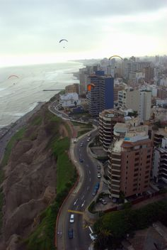 Cliffside Lima, Peru