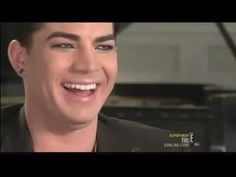 Adorable laugh by Adam Lambert - YouTube