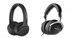 Sony e Denon presentano nuove cuffie smart sovraurali Sony, Over Ear Headphones, Fitbit, Rumore, Gadgets, Tecnologia, Gadget