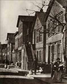 Black and White Art Photography Print. Maxwell Street. Chicago, 1900 ...