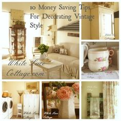 10 Tips To Save Money While Decorating - White Lace Cottage