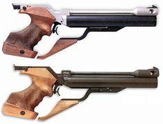Каталог спортивных пневматических пистолетов WALTHER