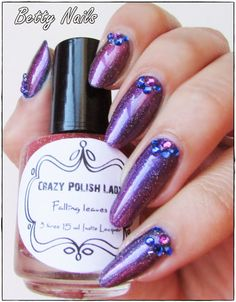 Today I have the the last one of the new Crazy Polish Lady Polishes! This is Falling Leaves and the star of the collect. Falling Leaves, Autumn Leaves, Nail Polish, Nail Art, Shoes Women, Nails, Lady, Indie, Awesome