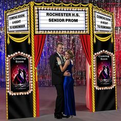 9 ft. 7 in. Broadway Play Marquee Entrance
